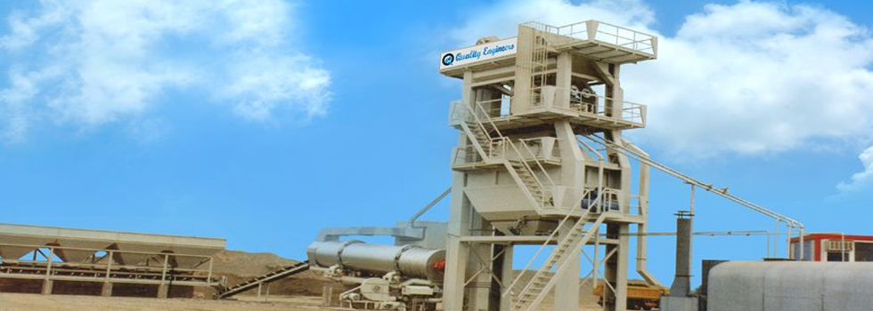 Asphalt Batch Mix Plant - Manufacturer, Exporter and Supplier