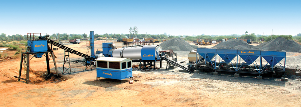 Asphalt Drum Mix Plant Gujarat
