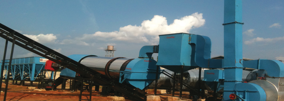 Asphalt Drum Mix Plant - Manufacturer, Exporter and Supplier
